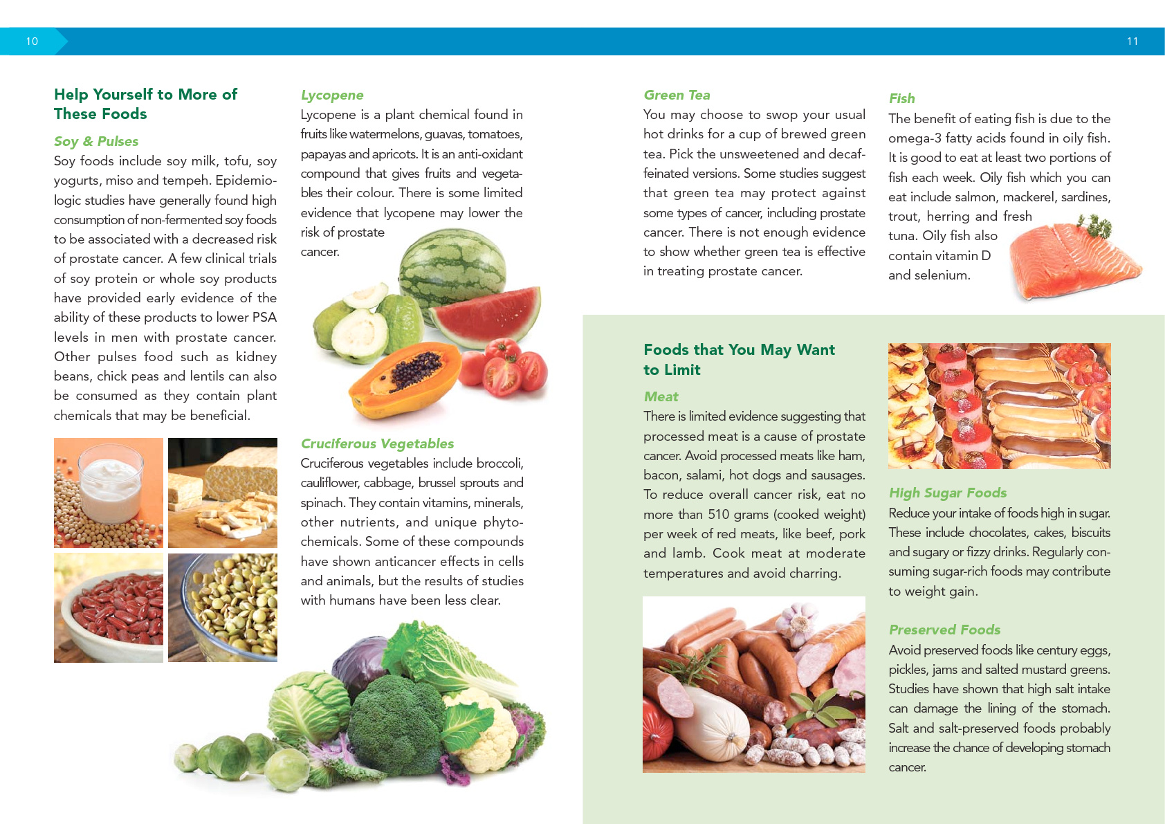 All ABOUT YOUR DIET (For Prostate Cancer Patients)