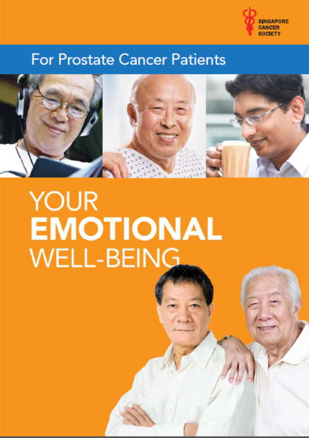 YOUR EMOTIONAL WELL-BEING (For Prostate Cancer Patients)